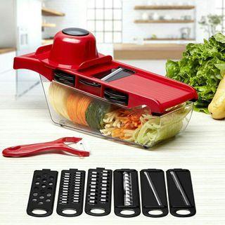 🍅10 in1 Vegetable Grater, Cutter & Slicer With Storage Set🍅