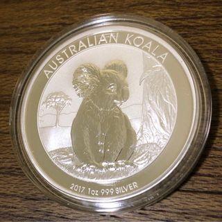2017 Silver 1 oz Coin Australia Koala