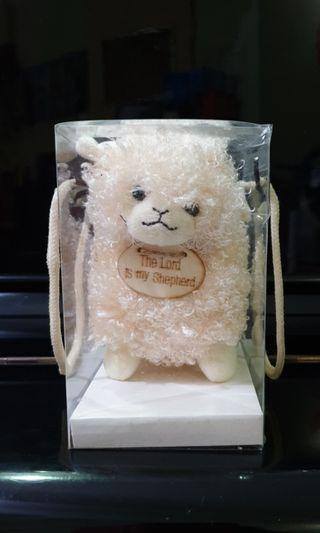 "🚚 $2 ""The Lord Is My Shepherd"" stuffed toy"