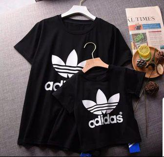 Adidas Family tshirt in black