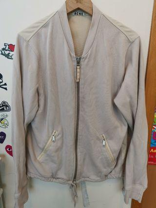 Cotton bumper jacket