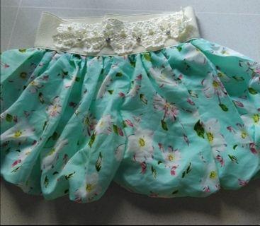 $5 SALE Cute Floral Lace Pumpkin Shorts
