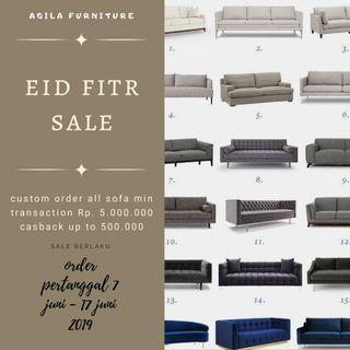 sale eid fitr custom order all sofa