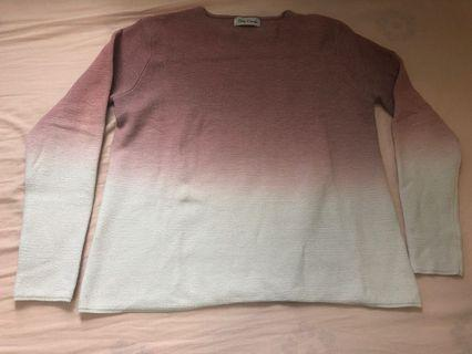 Pink & White sweater (very soft!)
