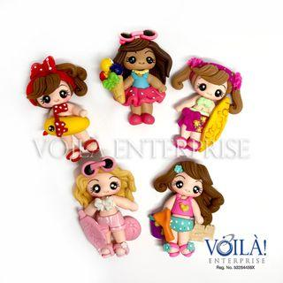 Clay Charm Doll - Summer Time Series