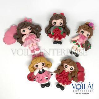 Clay Charm Doll - Love Series