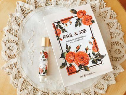 日本Paul & Joe Fragrance Rollerball花漾走珠香氛(玫瑰花味)