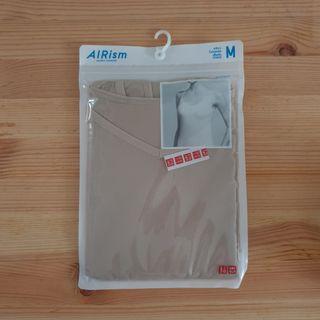 Uniqlo Airism Camisole Beige Size Medium Brand New Sealed #MRTTampines