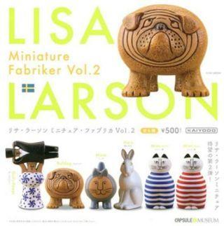 海洋堂 Lisa Larson Miniature Fabriker Vol.2 扭蛋