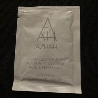 Alpha H micro cleanse Super scrub with glycolic Acid & peppermint