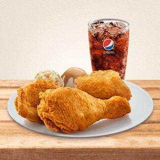 KFC DINNER PLATE- 3pcs Chicken