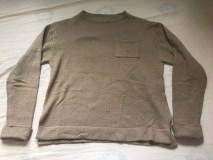 Pink beige sweater (Earth Music & Ecology)