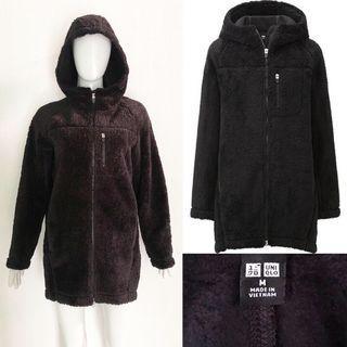 Uniqlo wind block fleece coat / jacket