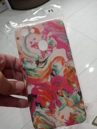 Case OPPO F5 abstract