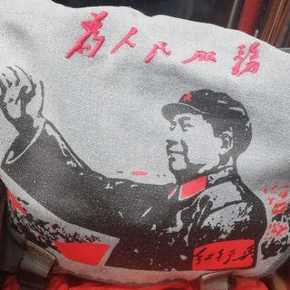 Mao Zedong design sling bag