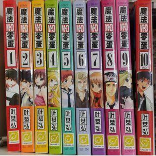 Pre-Loved Mx0 / 魔法零蛋 (Chinese Manga)