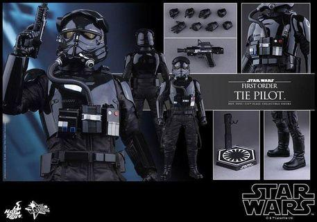 HOT TOYS 1/6 STAR WARS FIRST ORDER TIE PILOT (Stock-In-Hand)