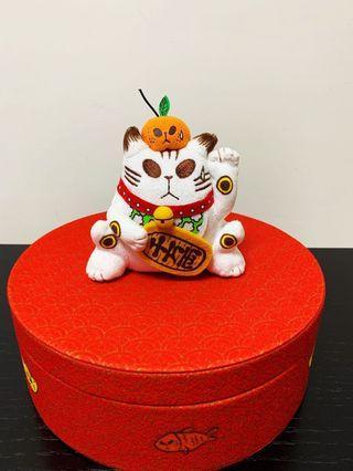 小克招財貓造型聾貓全盒(限量版)