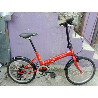 JEEP FOLDING BIKE FREE DELIVER AND NEFGOTIABLE!)