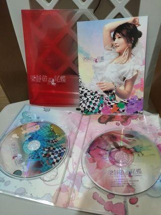 🚚 華語流行專輯 梁靜茹 燕尾蝶 雙CD