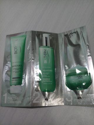 Biotherm sample set