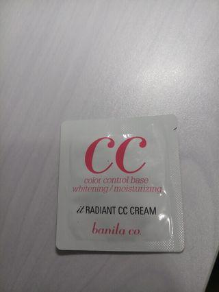 Banila Co. CC Cream sample