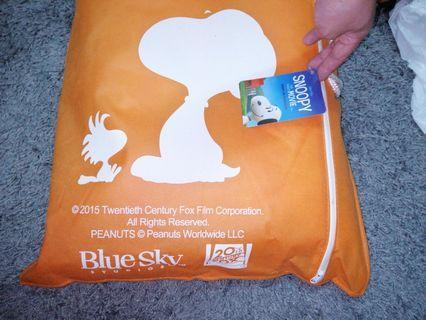 Snoopy 太空記憶棉枕 memory pillow