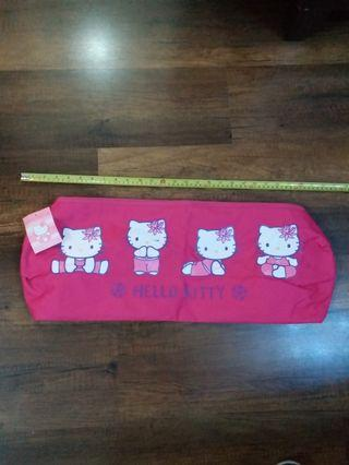 Sanrio Hello Kitty 瑜珈墊 收納袋, 圓柱形瑜珈墊袋