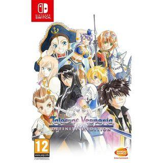 🚚 Tales of Vesperia Definitive Edition - Nintendo Switch game