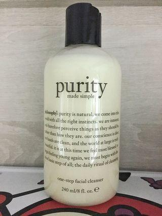 Philosophy Purity Facial Cleanser 卸妝 洗面