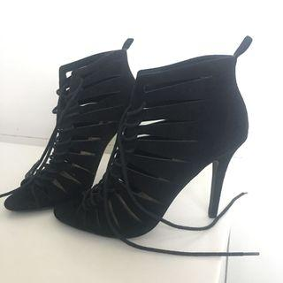 BN Black Laced Heels