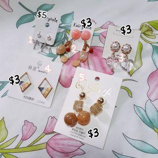 [WTS] Earrings * Japan Korea