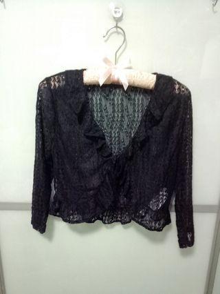 BN Temt Black Lace Cardigan