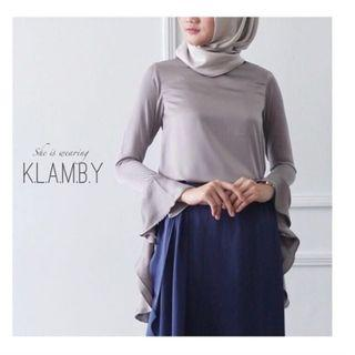 Alia Blouse Fossil by Wearing Klamby #belanjabulanan