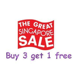 Big sale - women men top bottom clothings bags toys etc