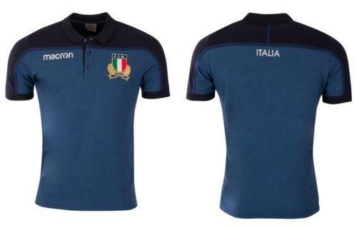 Italy Rugby cotton polo t shirt