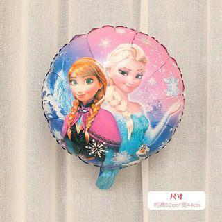各款卡通氫氣球 氦氣 PEPPA PIG 公主 ELSA 反斗車王 McQueen LINE FRIENDs