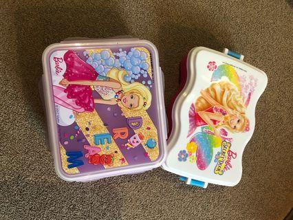 Sale 2 lunch box Barbie