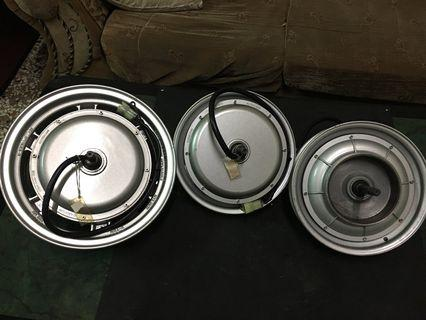 Eton hubs 2000 wats10 and 12 inches