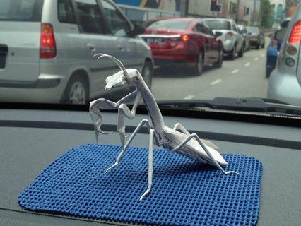 Origami Praying Mantis