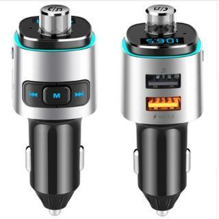 EANOP Car USB Quick Charger QC 3.0 Bluetooth FM Transmitter