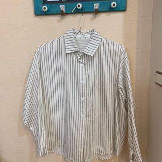 🚚 黑白條紋襯衫