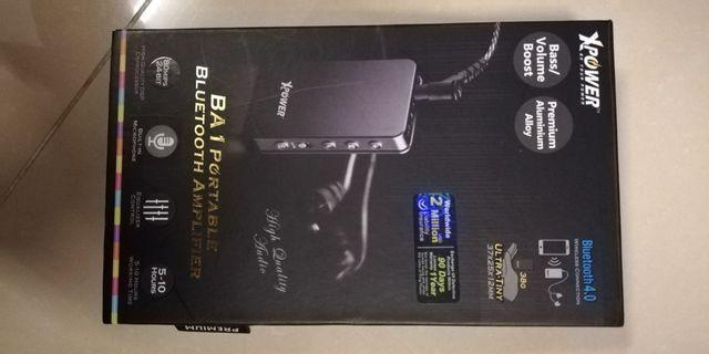 XPOWER portable Bluetooth BA1 amplifier headphone 擴音耳筒