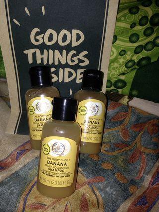 The Body Shop shampo