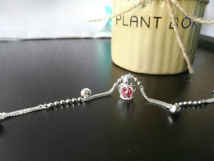 925 Silver Queen Bracelet
