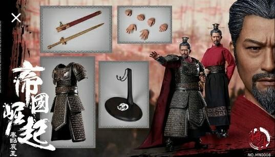 [INSTOCK] JS MODEL1/6 SCALE FIGURES MN008 KING ZHAOXIANG OF QIN [LAST]