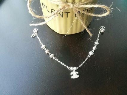 925 Silver CHANNEL Bracelet *HOT*