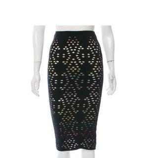 🚚 Alice + Olivia Knee-Length Laser Cut Skirt