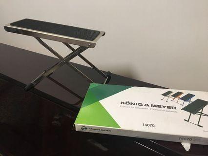Classical guitar footstool