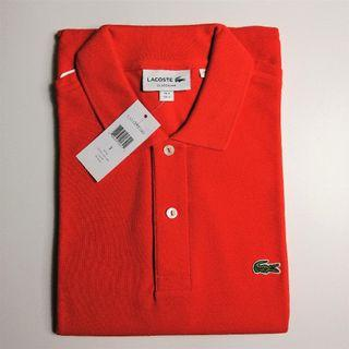 Lacoste Polo Shirt Classic Fit Sz 3 (S) Red